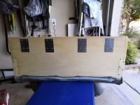 Rear head rest install