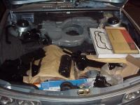 Happiness is a Boot full of painted tin and parts!