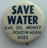 VW Button / Pin