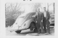 57 beetle and my Dad