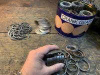 Crank gear spacer