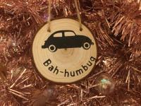 Christmas decoration Bah - humbug