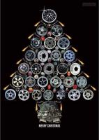 VW Christmas Wheel Tree
