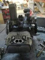 Late baywindow engine teardown