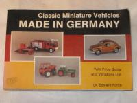 Volkswagen Die-cast Toy Book