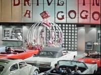 "Beetle sunroof in ""Speedway"" (1966)"