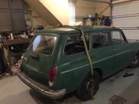 Continued work on 1970 Squareback