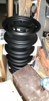 powder coated bus wheels