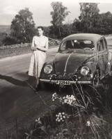 Old pictures of our  1952 split bug