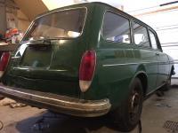 Polishing the Original Elm Green Paint on my 1970 Squareback
