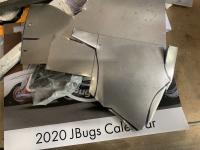 Lower luggage shelf install