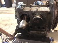 Engine stud removal