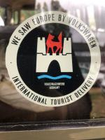Tourist delivery decal
