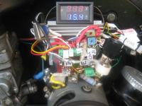 6 Volt Voltage Regulator with Volts and Amps Meters