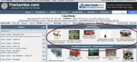 Classifieds Home Page - Random Featured Ads box