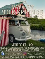 VWs At The Springs 2020