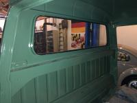 single cab work - glass, suspension