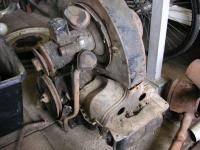 June 1952 24.5 hp engine # 1-0449368, smooth fan housing
