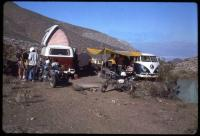 Dormobile and other camper camping