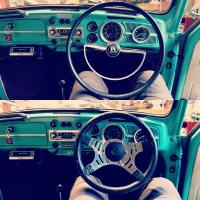 Mountney steering wheel