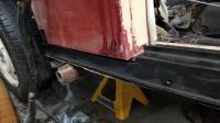 Beetle woody running board fastener panel strips heater channel bottom