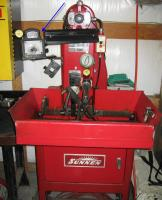 Sunnen Rod Machine used to resize Bus Rods