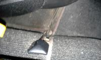 73 type 3 seat for/aft knob repair