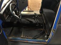 72 super beetle getting ready for new carpet