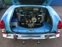 Karmann Ghia coustom exhaust