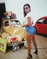 Girl and VWs