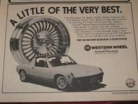 Western Wheel Ad