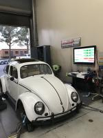 On the Dyno  at westech