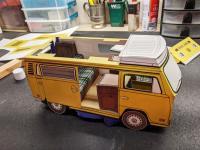 1974 Westfalia Campmobile Paper Model