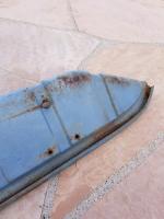 Bus Dove Blue parcel tray