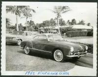 1962 Karmann Ghia vintage photo