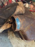 Blue engine tin?