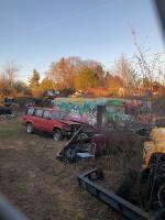 Zombie apocalypse junkyard