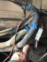 front heater core hoses