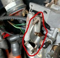 Throttle Lever broken