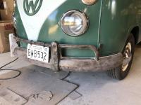 Split bus front bumper