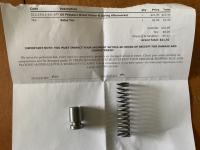 Single relief piston