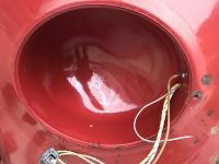 Lettering in headlight bucket
