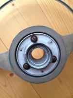 1960 og paint tube column bearing