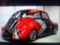 VW custom Paint work
