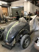 1968 VW Beetle Convertible