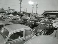 Trailer full of VWs
