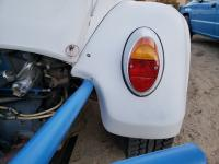 Baja Bug fiberglass fender repair
