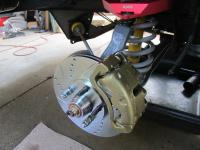 Lower ball joint install