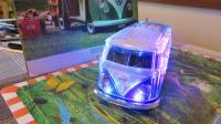 "WS-267BT Volkswagen T1 Bus Blue Tooth Speaker Toy ""Crystal Car Speaker"""