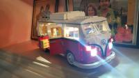 Creator Series Volkswagen T1 Camper Van (set 10220) WITH aftermarket LED lights